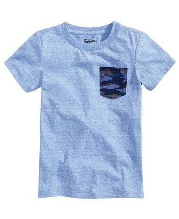 Epic Threads Little Boys Camo-Pocket T-Shirt, Created for Macy's & Reviews - Shirts & Tees - Kids - Macy's