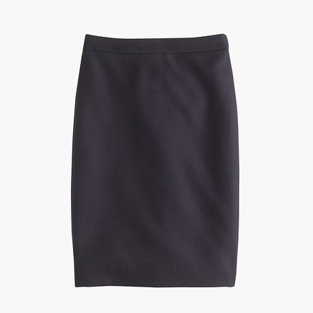 No. 2 Pencil Skirt In Double-serge Wool - Women's Skirts | J.Crew