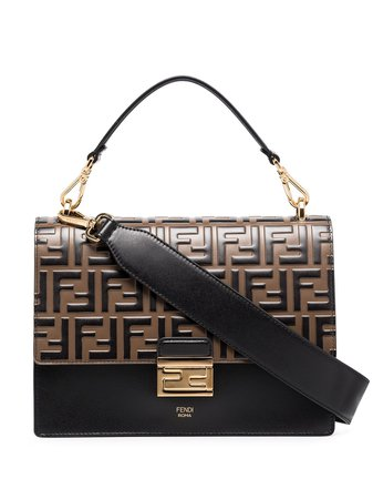 Fendi Medium Kan U Shoulder Bag - Farfetch