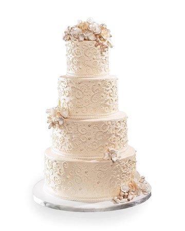 blush wedding cake white backgrounds - Google Search