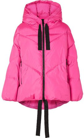Genius - 1952 Quilted Shell Down Jacket - Bright pink