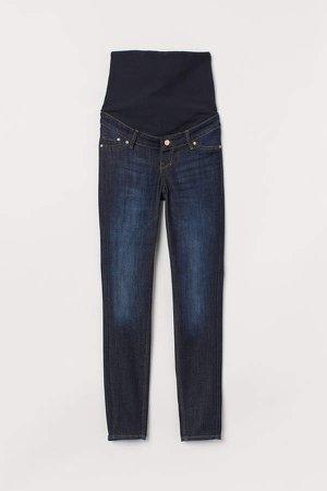 MAMA Skinny Jeans - Blue