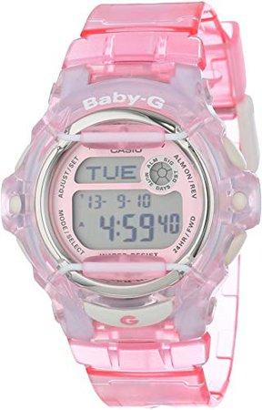Casio Women's BG169R-4 Baby-G Pink Whale Digital Sport Watch ($54.00)