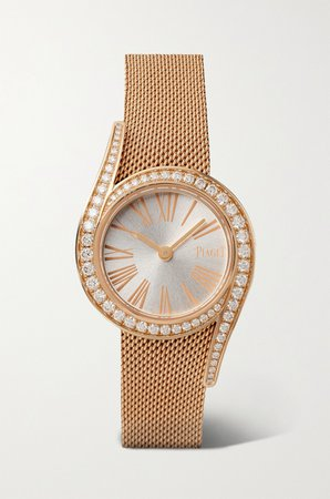 Rose gold Limelight Gala 26mm 18-karat rose gold and diamond watch | Piaget | NET-A-PORTER