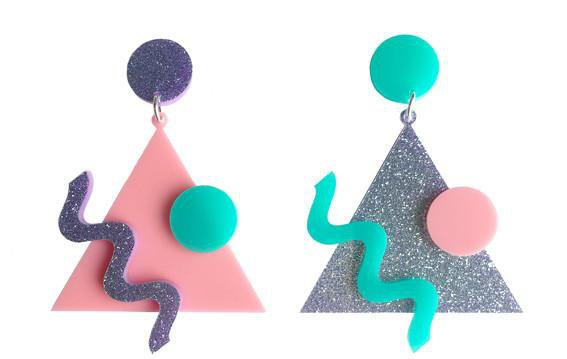 80's Memphis Vibe Earrings – yippywhippy
