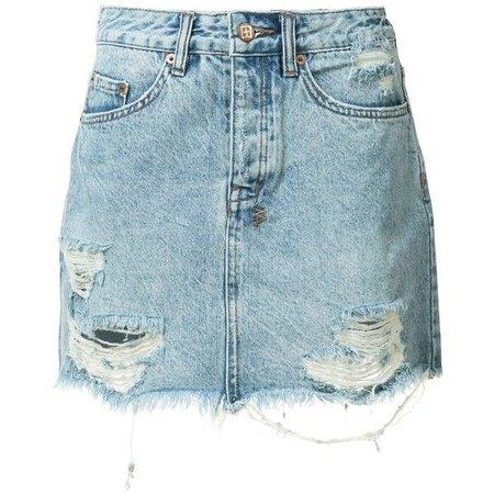 short jean skirt polyvore - Pesquisa Google