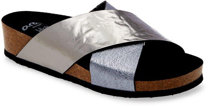 Bobby Cross Strap Sandal