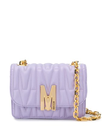 Moschino M-quilted Shoulder Bag - Farfetch