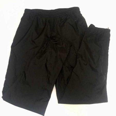 Vintage Nike Slim Swooshie Pants/ L Condition: 9/10 Length: - Depop