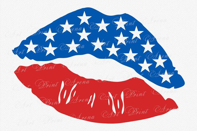 4th of july lips - Google Search