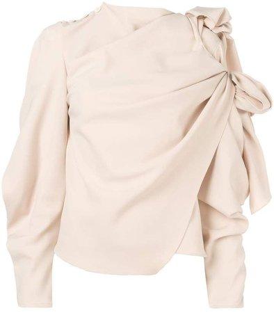 asymmetric blouse