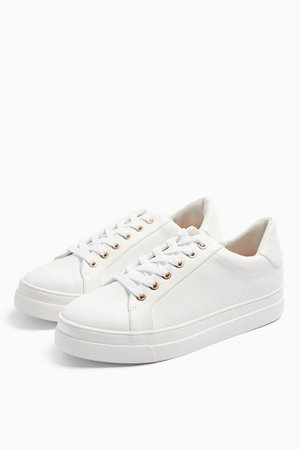 CANDY Lace Up Trainers | Topshop