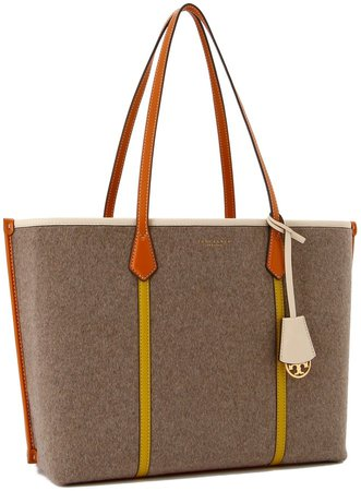 Perry Felt Triple-Compartment Tote Bag