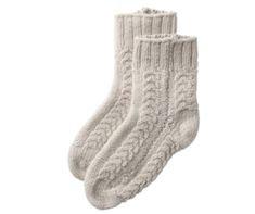 woven socks