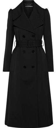 Kristen Wool-gabardine Trench Coat