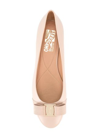 SALVATORE FERRAGAMO Vara ballerina shoes