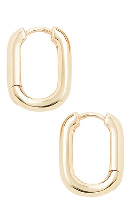 SHASHI Cosmo Hoops in Gold | REVOLVE