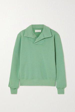 Cotton-jersey Sweatshirt - Green