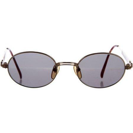 Jean Paul Gaultier Oval Sunglasses