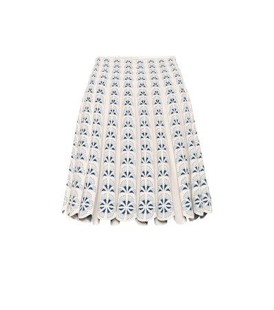 Alaïa, Stretch-Knit Mini Skirt