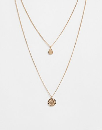 ASOS DESIGN chakra multirow necklace | ASOS