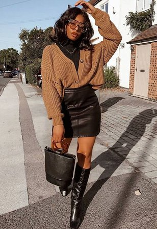 knee high boots style black girl - Google Search