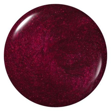 dark-garnet red nail polish filler shimmer