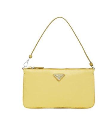 prada yellow mini bag