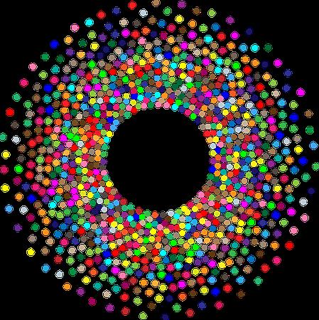Torus Circles Dots - Free vector graphic on Pixabay