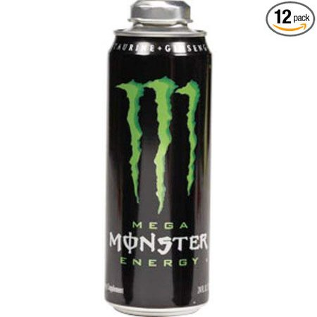 Mega Monster Energy Drink, 24-Ounce Cans (Pack of 12)