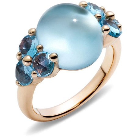 Light Blue Stone Ring