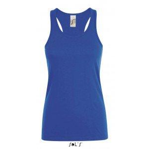Sols Justina Women Tank Top, Royal Blue, S (T-shirt, 90-100% cotton) - Reklámajándék.hu Ltd.
