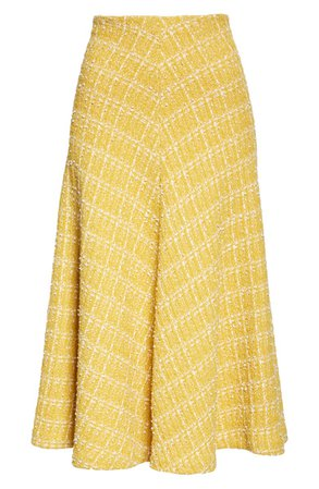 St. John Collection Textured Knit A-Line Skirt   Nordstrom