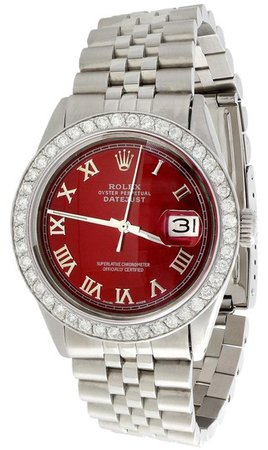 rolex-silver-36mm-datejust-diamond-jubilee-roman-numeral-red-dial-190-watch-0-1-540-540.jpg (321×540)