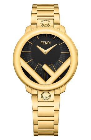 Fendi Run Away Bracelet Watch, 36mm | Nordstrom