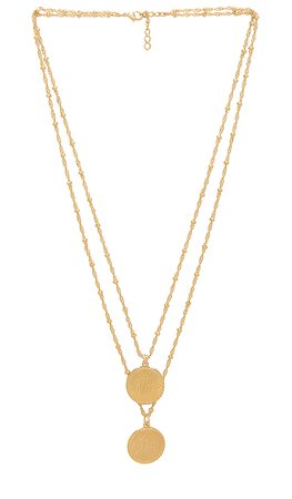 joolz by Martha Calvo Non & Oui Necklace in Gold | REVOLVE