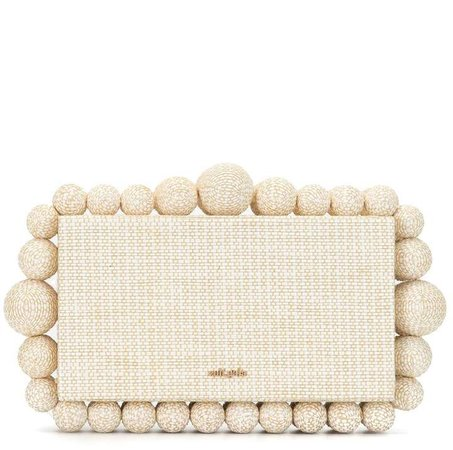 Eos box clutch bag