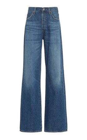 Annina High-Rise Wide-Leg Jeans By Citizens Of Humanity | Moda Operandi
