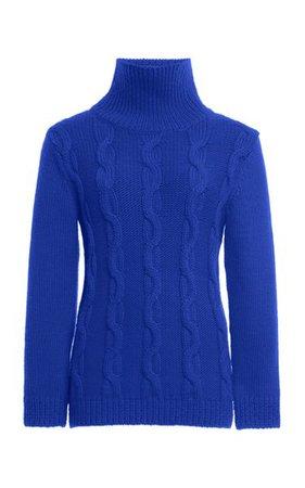 Cable-Knit Wool Turtleneck Sweater By Victoria Beckham | Moda Operandi