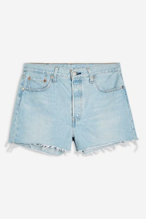 501® High Rise Shorts by Levi's® | Topshop