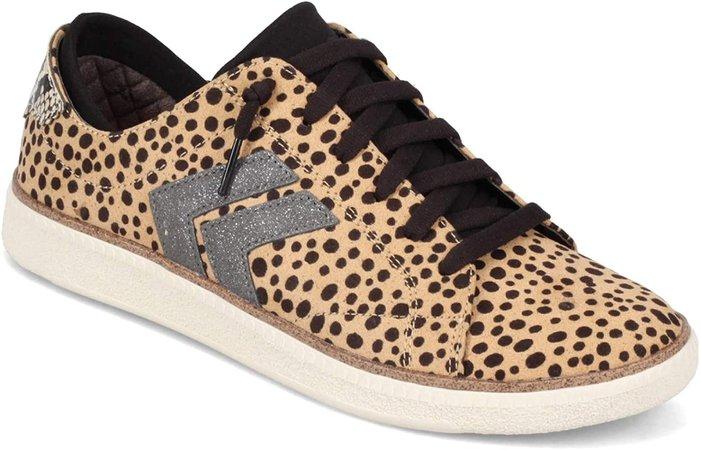 Amazon.com | Dr. Scholl's Shoes Women's Sweet Kicks Oxford, Tan Black Fabric, 6 | Oxfords