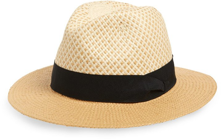Basket Weave Panama Hat