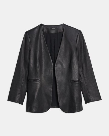 Lindrayia Blazer in Leather