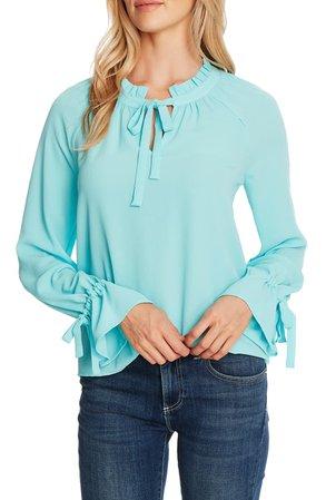 CeCe Tie Sleeve Blouse | Nordstrom