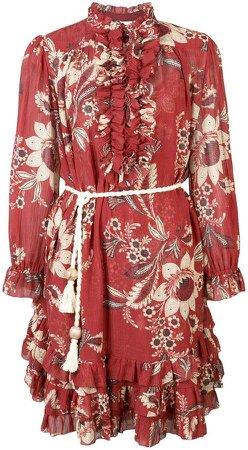 Rosa Batik-print dress