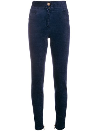 Balmain high-waist Skinny Trousers - Farfetch