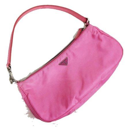 pink y2k Prada purse
