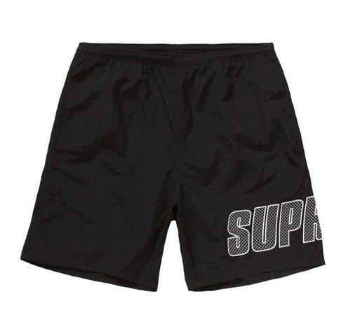 Supreme Black Hoop Shorts