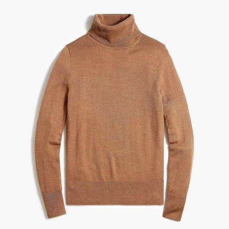 Merino wool-blend turtleneck