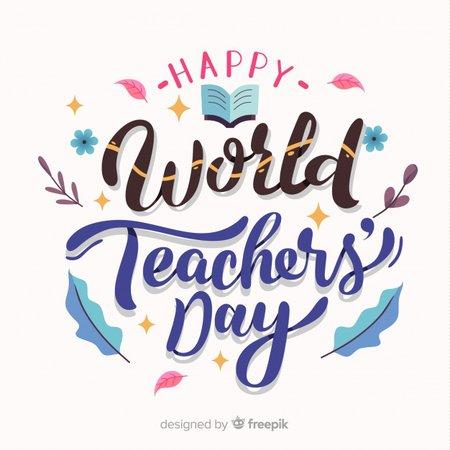 world teacher day - Google Search